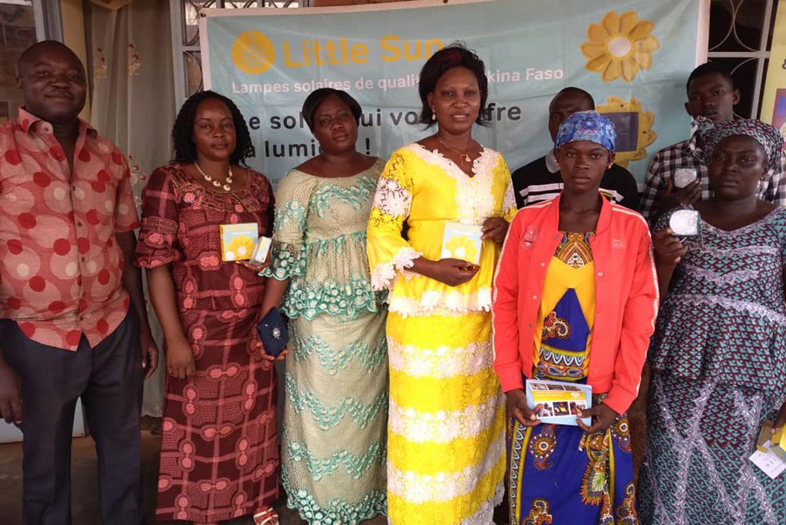 Burkina Faso Sales Little Sun
